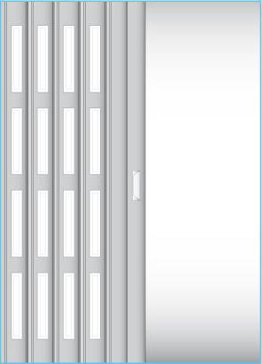 Čtyři řady oken