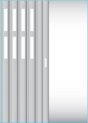 Dvě řady oken