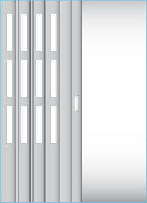 Tři řady oken